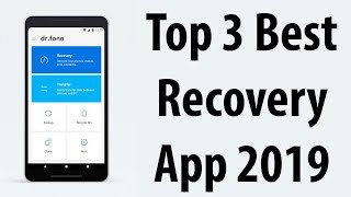 Top 3 Best recovery app for android || how to recover deleted files from android phone