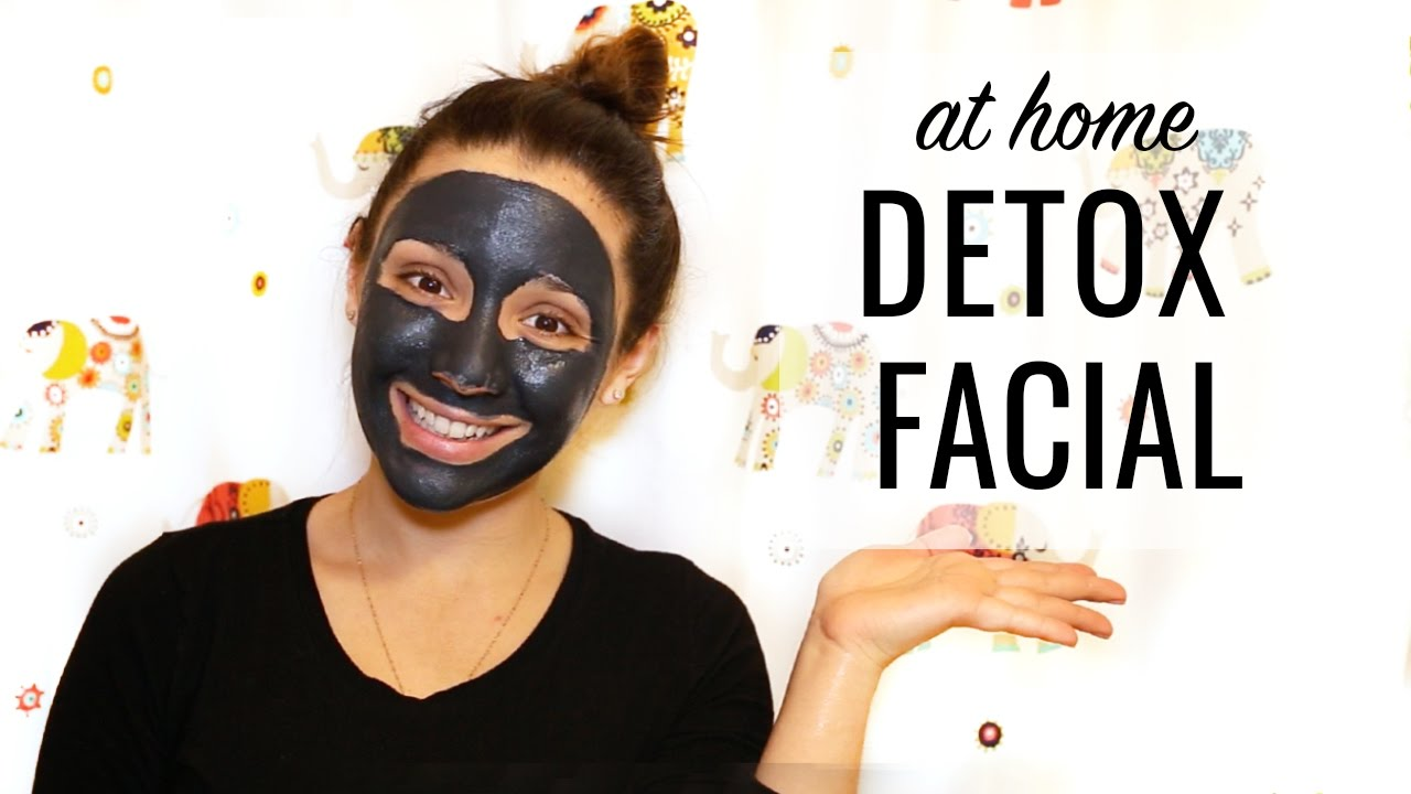 DIY DETOX FACIAL | my best skincare secret