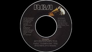 "Evelyn ""Champagne"" King ~ Shame 1977 Disco Purrfection Version"