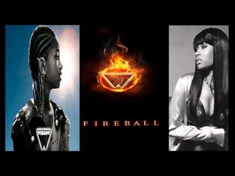 Willow Smith Feat. Nicki Minaj - Fireball (OFFICIAL REMIX 2011)