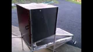DIY Solar dryer made from recycled materials
