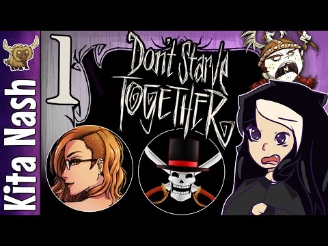 Don't Starve Together Gameplay PART 1: I'M STARVING  Let's Play Collab w/Kat & Dark