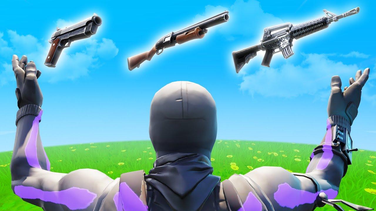 THE BEST GUNS IN FORTNITE