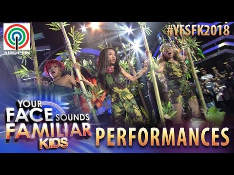 Your Face Sounds Familiar Kids 2018: TNT Boys as Destiny's Child | Survivor