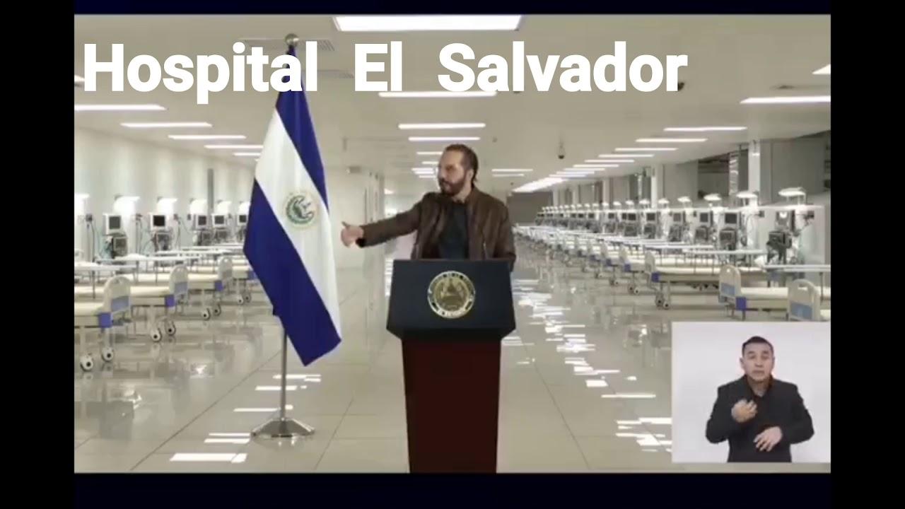 Así fue inaugurado el Hospital El Salvador 🇸🇻🇸🇻el más grande de latinoamerica