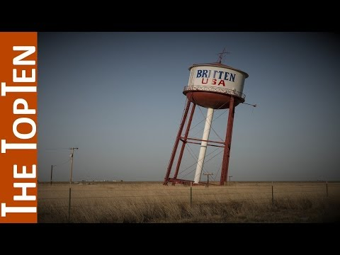 The Top Ten Weirdest Water Towers on Earth