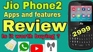 Jio phone2 Apps and features  review .Is it worth buying?