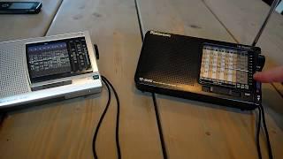 Panasonic RF-B11 vs Sony ICF- SW11 мини обзор, поломка и сравнение.