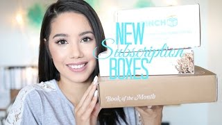 NEW SUBSCRIPTION BOXES! BOOK OF THE MONTH | PINCH ME| WALMART BEAUTY | 2016 | BECKYMORFIN