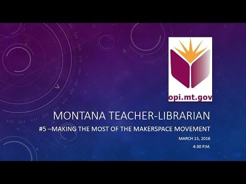 Montana Teacher Librarian Digital Blast March 2016