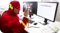 The Flash im ProSieben Hauptquartier! | ProSieben