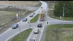 Kelikamera-kollaasi 3.5.2019 (Finnish road weathercams)