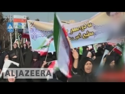 Pro-government rallies in Iran ahead of United Nations meeting 🇮🇷