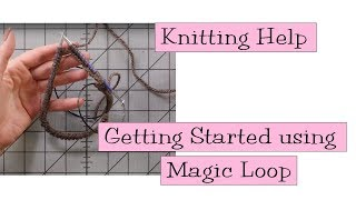 Knitting Help - Getting Started with Magic Loop
