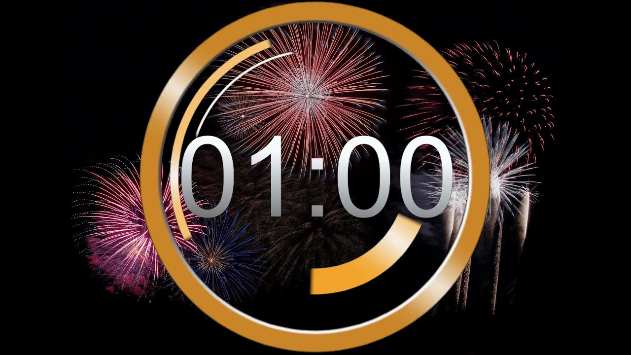 New Year Countdown 2021 ❆ last 60 secound / 1 minute TIMER / Neujahr letzte 1 Minute - YouTube