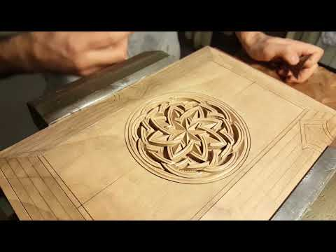 Wood carving. Book