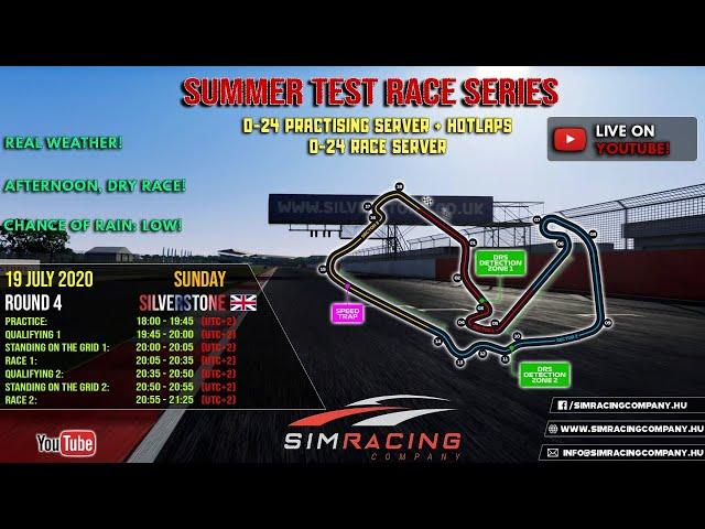 Sim Racing Company - GT3 Test Race 4: Silverstone