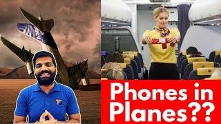 Can your Phone Crash an Aeroplane? 😱😱😱