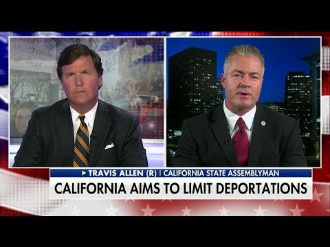 Travis Allen rips Jerry Brown Over Sanctuary State Law