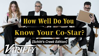 The 'Schitt's Creek' Cast Plays 'How Well Do You Know Your Co-Star?'