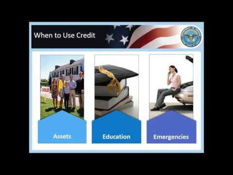Financial Fitness Series - Scoring Big on Credit