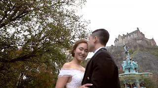 Edinburgh Pre-wedding short film 愛丁堡婚紗側錄-Keith+Maggie