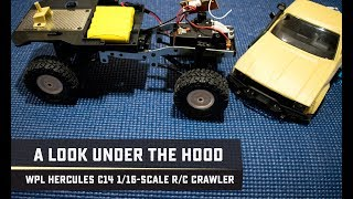 Under the Hood of the WPL Offroad Hercules C14 1/16-scale R/C Crawler