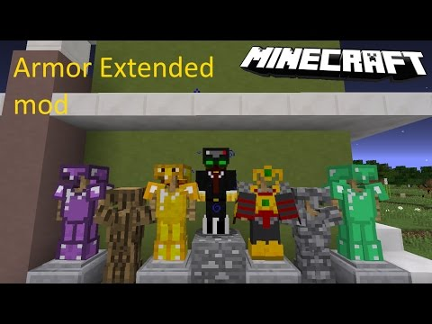 1 11 2 Armor Extended Mod Download Minecraft Forum