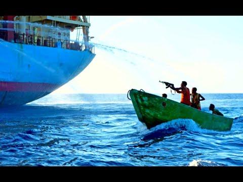 Somali Pirates Attack on Big Bulk Carrier Ship