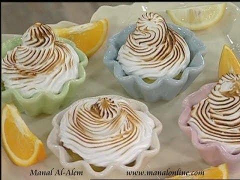بودنج الليمون والبرتقال بالمارينج - مطبخ منال العالم