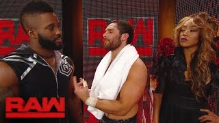the drama between cedric alexander and alicia fox continues raw jan 23 2017