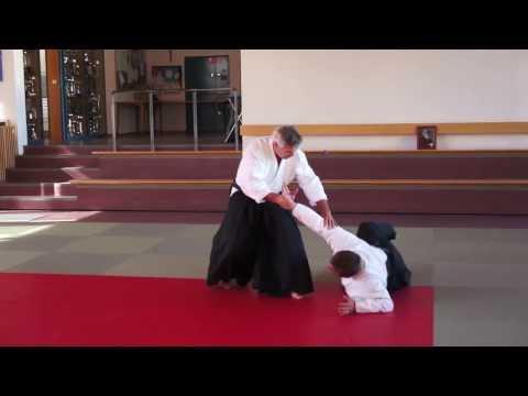 2. Kyu - Tachi Waza - Ushiro Katate Dori Kubi Shime - Ikkyo Omote + Ura