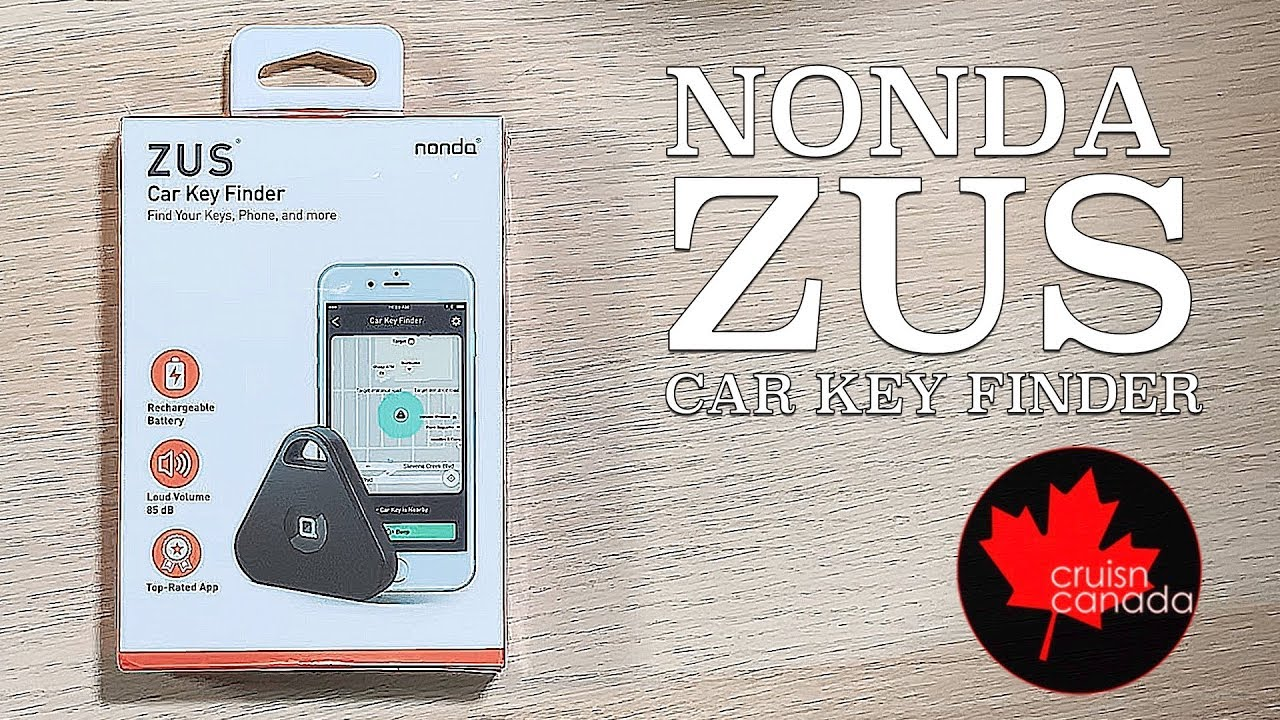 Nonda Zus Ihere Car Key Finder Unboxing And Review