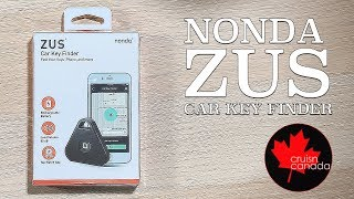 Nonda Zus iHere Car Key Finder | Unboxing and Review