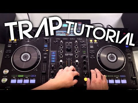 How To Mix Trap Music (Easy Tutorial) on Pioneer XDJ-RX