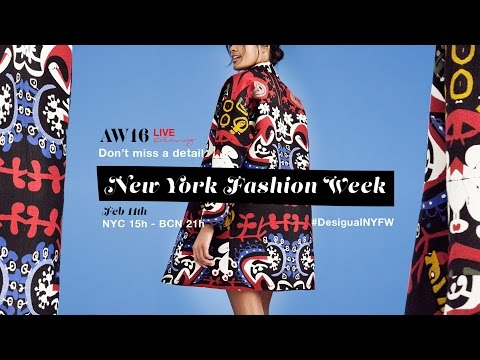 LIVE at New York Fashion Week - Desigual AW16 Collection