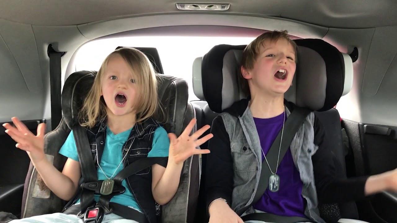 Carpool Karaoke Justin Bieber Baby w/Bradley and Bowie ...