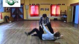 Master Wang Hai Jun Push Hands Application 2003 with Niall O'Floinn.mov