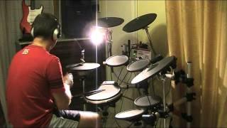 formula 3 eppur mi son scordato di te punta ala live rock drum cover