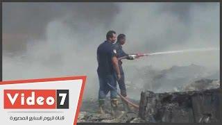 السيطرة على حريق بقطعة أرض فى أبورواش دون تأثر القرية الذكية