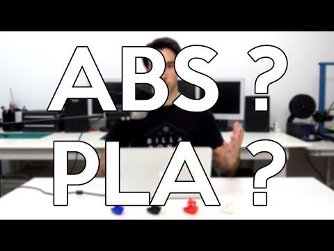 PLA ou ABS ? | Les différents plastiques standards en impression 3D