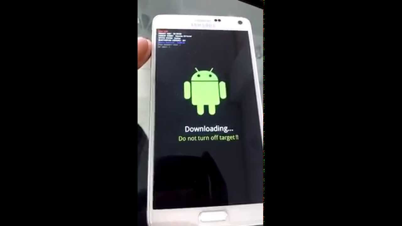 Samsung Note4 N910A How To Set Download Mode (for flashing