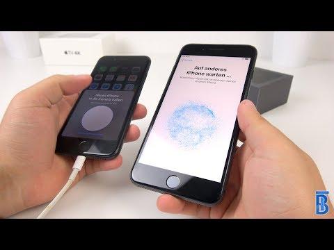 Ein Neues IPhone Mit Dem IOS Schnellstart Einrichten! - TouchBenny