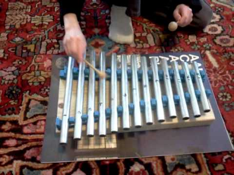 Home made Xylophone - YouTube