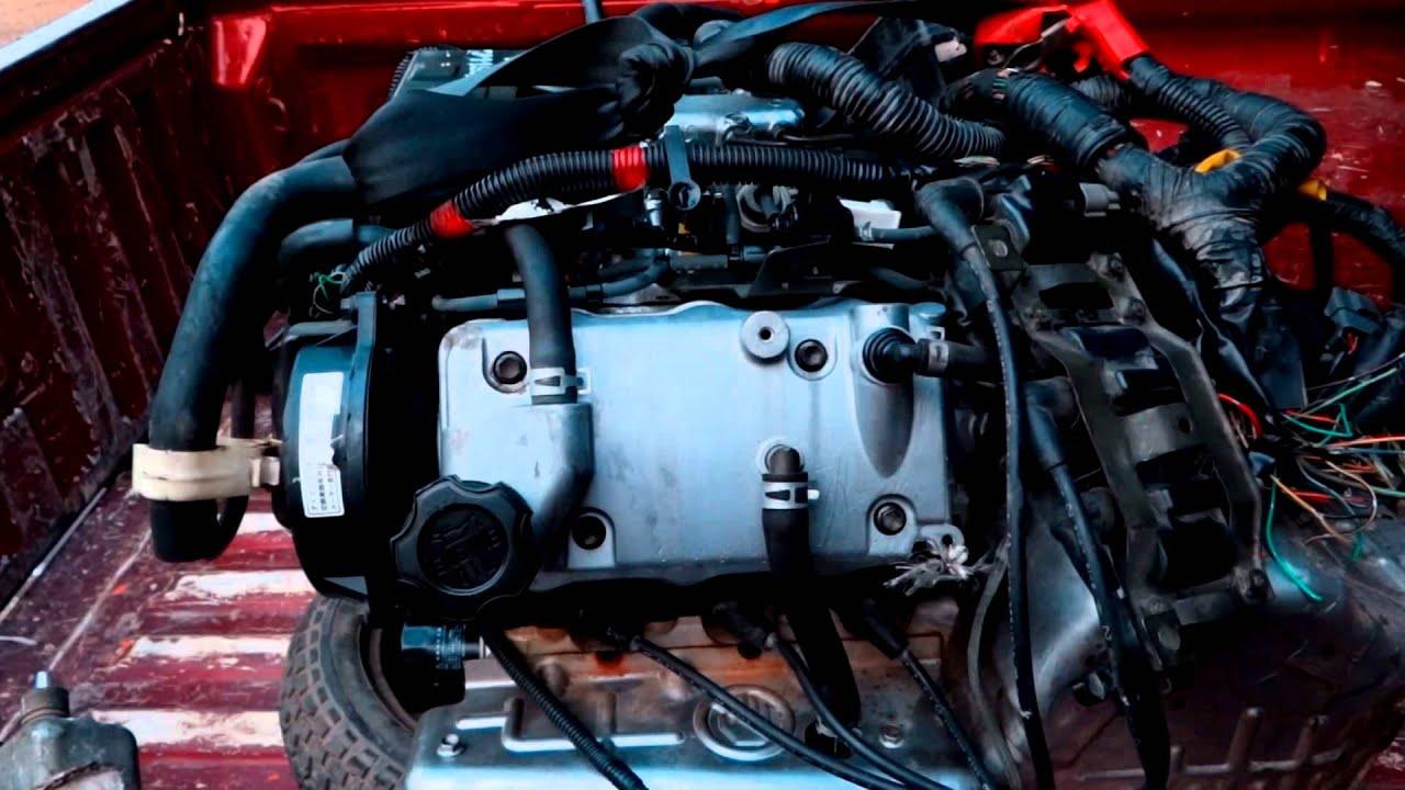 The Suzuki f6A engine  YouTube