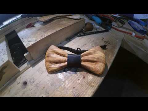 How a truly handmade bowtie is made