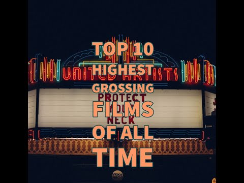 Top 10 Highest Grossing Films Of All Time(Feb 2020)