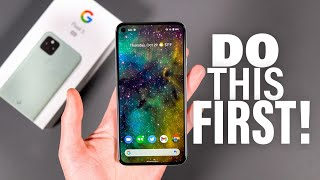Pixel 5: First 10 Things to Do!