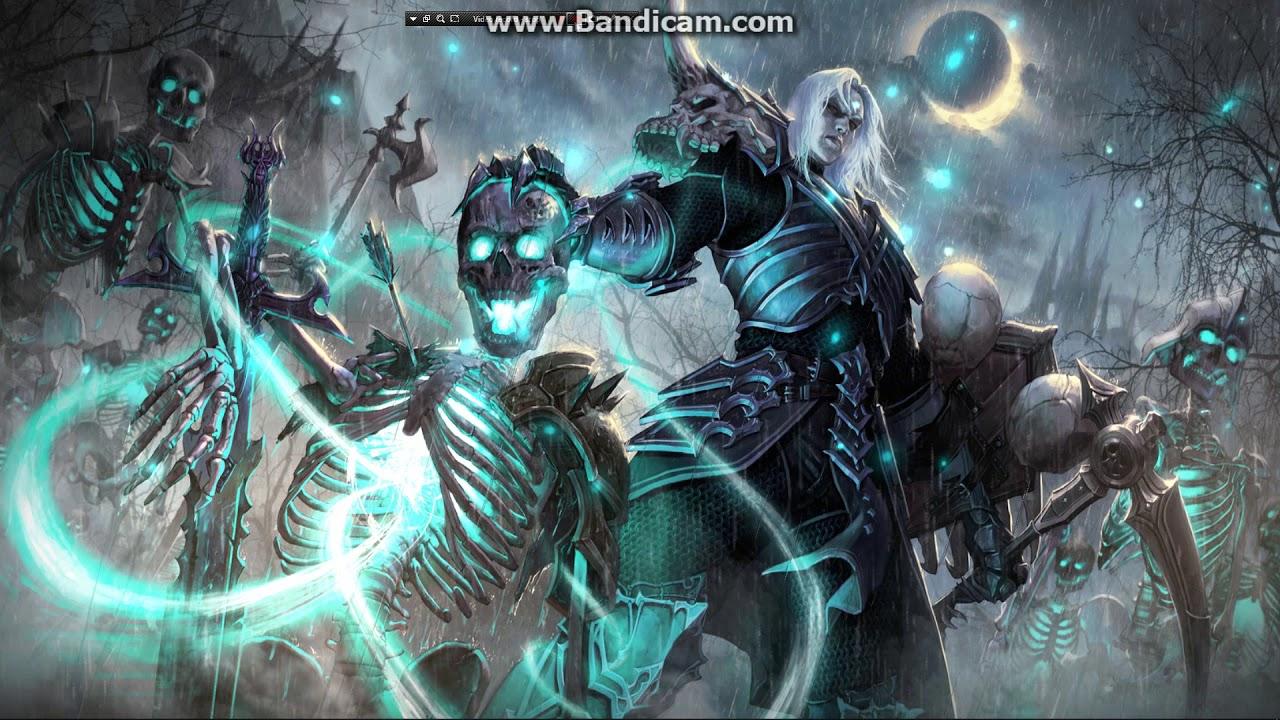 Diablo 3 Necromancer Live Wallpaper