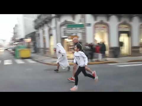 Díaz e Ferreiros impóñense na Milla Urbana de Sarria
